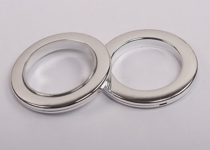 50mm plastic silvery round curtain eyelet rings Wholesale 50mm ...